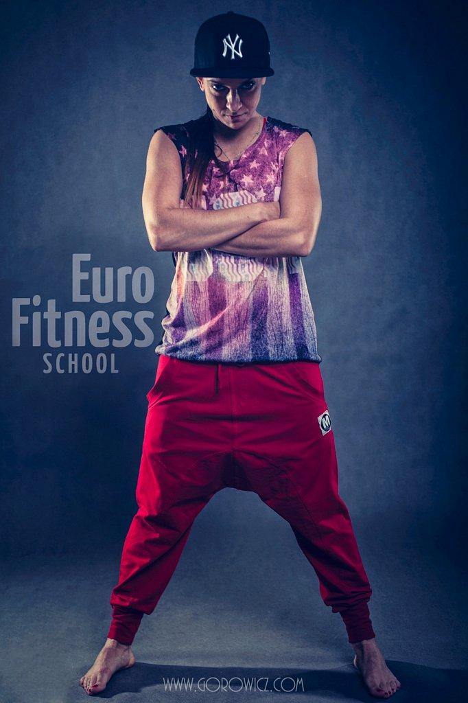 Euro Fitness - Sesja Wizerunkowa Instruktorów